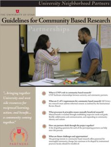 Guidelines for Community Based Research, 2007 Report