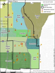 Communities within UNP's boundaries